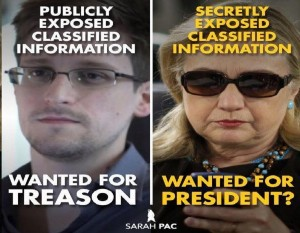 Hillary and Snowden