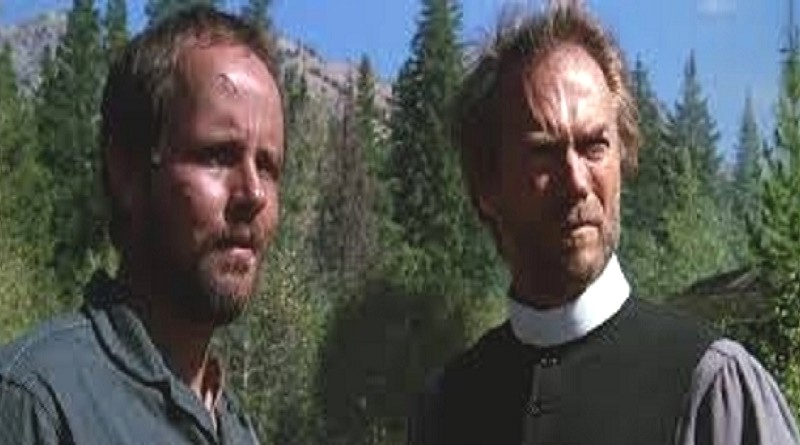 Michael Moriarty starred opposite Clinton Eastwood in 1985's The Pale Rider.