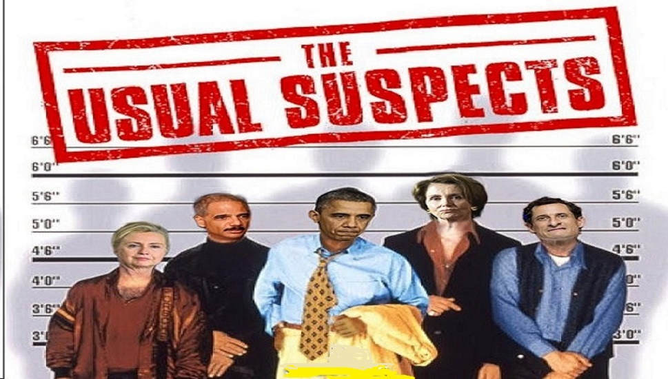 Obama and usual suspects