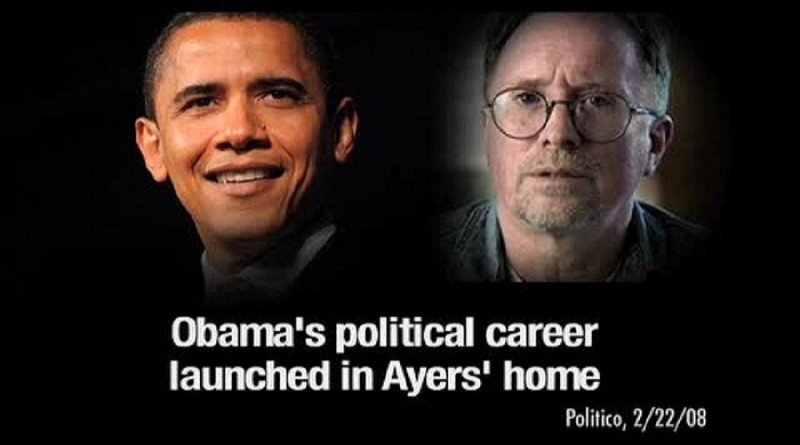 Once someone looks into  Barack Obama's life story -- not the phony book but the real story -- that person begins to understand why the nation and the world are in chaos. And the majority of news reporters are the same politically as Ayers and Obama.