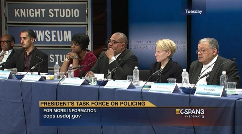 The panel above comprised of blacks, Latinos and women many of whom never worked in law enforcement.