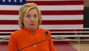 Someone asked Hillary Clinton about morality and legality and this was her reaction.