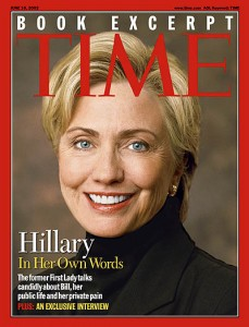 Does anyone believe this photograph wasn't touched-up to make Hillary Clinton look better than she really looks? The majority of the media are already in the tank for the Clintons.