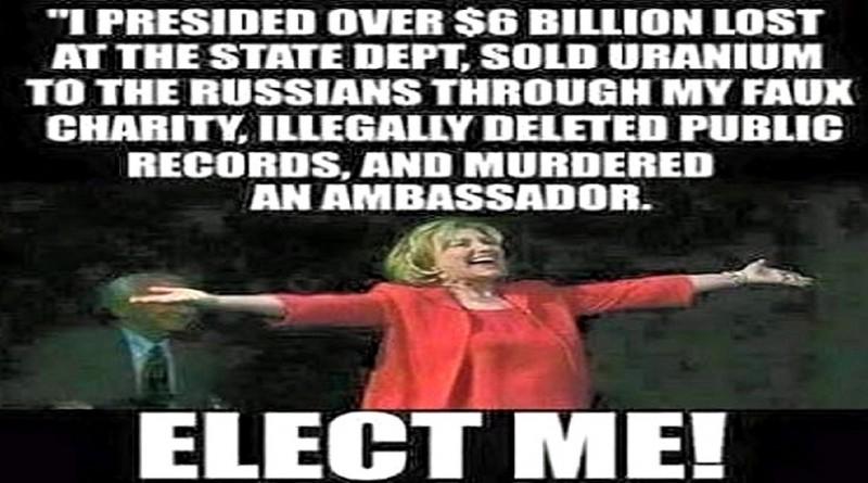 Hillary Rant