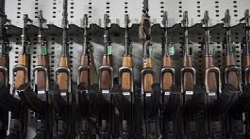 Mosque Cache of weapons