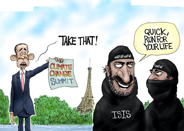 Obama Climate Change Attack