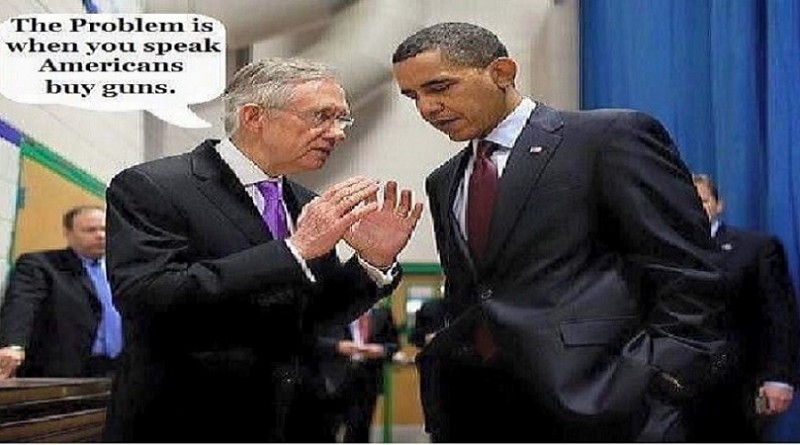 Obama Reid and Guns