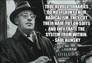 President Obama is a faithful believer in the Alinsky worldview.