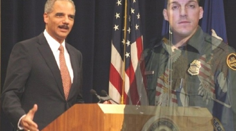 Border Patrol Agent Brian Terry -- murdered with a Fast and Furious gun -- became the symbol of  Eric Holder's dishonesty and contempt for the Constitution.