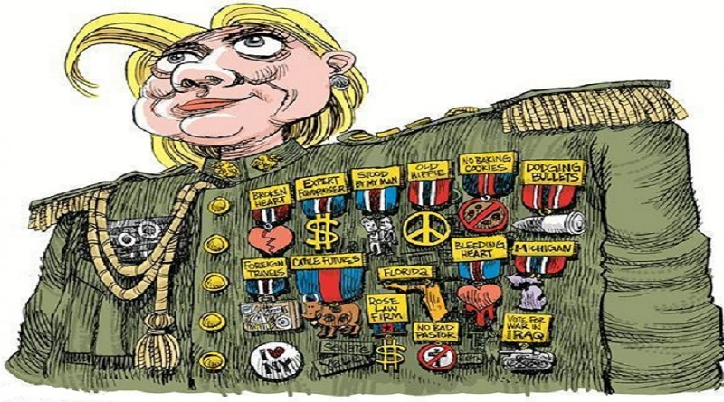 Hillary the General