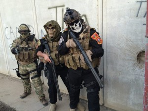 Members of the U.S.-trained Iraqi special forces. Iraq's government is threatening to allow their military to kill American Delta Forces.