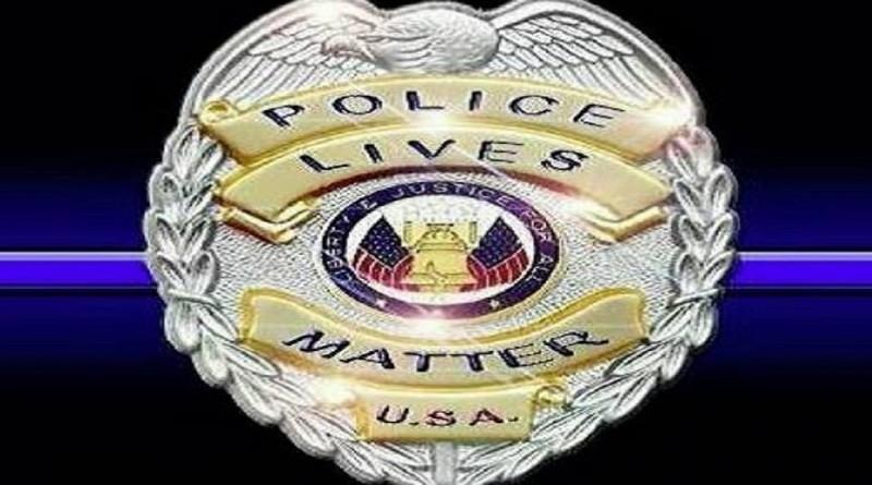 Police Lives Matter Badge