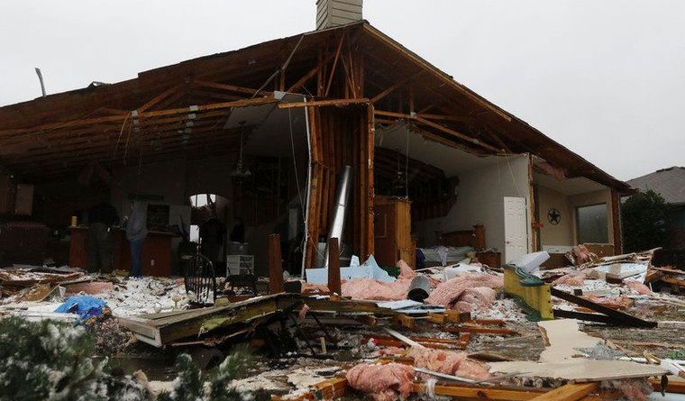 The U.S. National Guard is being deployed in several states undergoing severe weather.