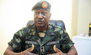 Nigeria's military spokesman, Gen. Chris Olukolade, is one of the new military brass fighting Boko Haram.