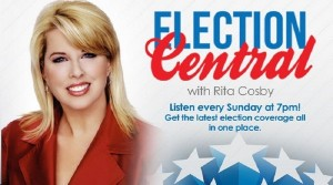 Award-winning Newswoman Rita Cosby is covering the 2016 Presidential Election for New York City's legendary WABC News/Talk Radio.