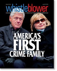 If people literally did keep skeletons in their closets, the Clinton family would need at least a hundred closets.