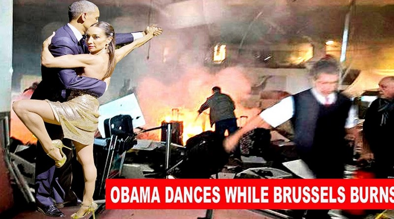 Barack Obama Dances