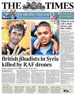 It's believed that British citizens make up a large percentage of Western Muslims who have traveled to Syria and Iraq to fight their own countrymen.