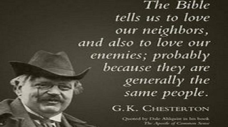 C.K. Chesterton