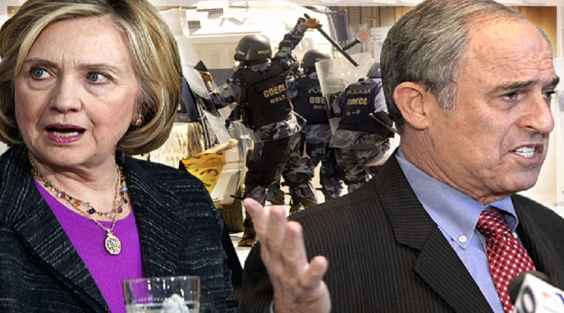 Hillary Clinton and Lanny Davis