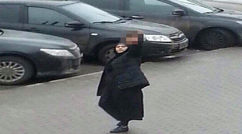 "*GRAPHIC CONTENT*  This handout picture obtained on February 29, 2016 on oleg_smotra's Instagram account shows a woman, identified as 38-year-old Gyulchekhra Bobokulova, holding the severed head of a child near a metro station in northwest Moscow. Russian police on February 29 arrested a nanny for beheading a young girl in her care, investigators said, with local media reporting she was arrested while carrying the child's severed head. AFP PHOTO / INSTAGRAM / OLEG_SMOTRA ==RESTRICTED TO EDITORIAL USE - MANDATORY CREDIT ""AFP PHOTO / INSTAGRAM / OLEG_SMOTRA"" - NO MARKETING - NO SALES - NO ADVERTISING CAMPAIGNS - DISTRIBUTED AS A SERVICE TO CLIENTS ==OLEG_SMOTRA/AFP/Getty Images"