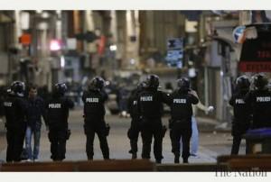 British police terror drill.