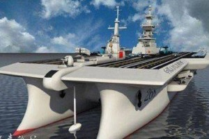 While the US is reducing the size of its Navy, China is increasing its military including building new, modern warships.