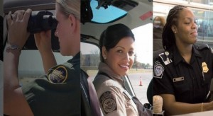More and more women are becoming law enforcement officials with agencies such as the U.S. Border Patrol.