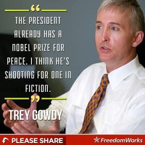 Gowdy on Obama Fiction