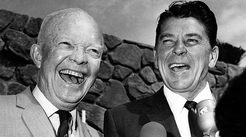 Reagan and Eisenhower