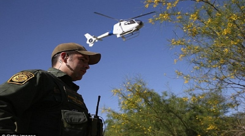 border patrol agent helicopter