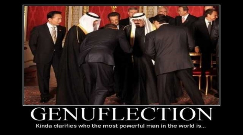Image result for MUSLIM OBAMA BOWING""