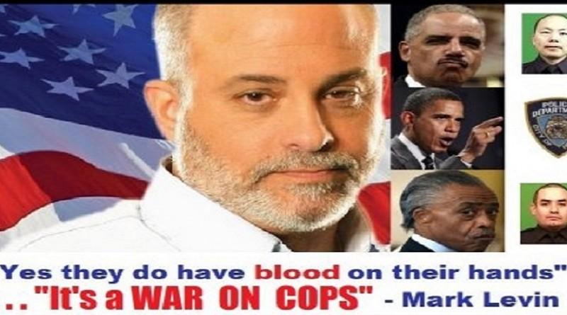 Mark Levin cops