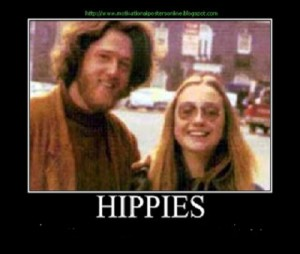 The hippy couple became the Bonnie & Clyde of Politics.