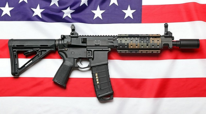 Obama and the Democrats appear to hate these two objects -- the American flag and the AR-15 rifle.