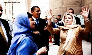 Obama, Hillary Clinton and Valerie Jarrett have filled the administration with suspicious characters and tell Americans the Muslim Brotherhood is a moderate Islamic group.