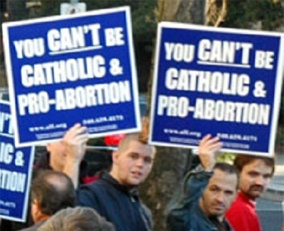 Catholic-Pro-Abortion-Sign