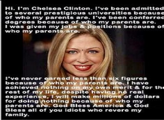Chelsea Clinton Money