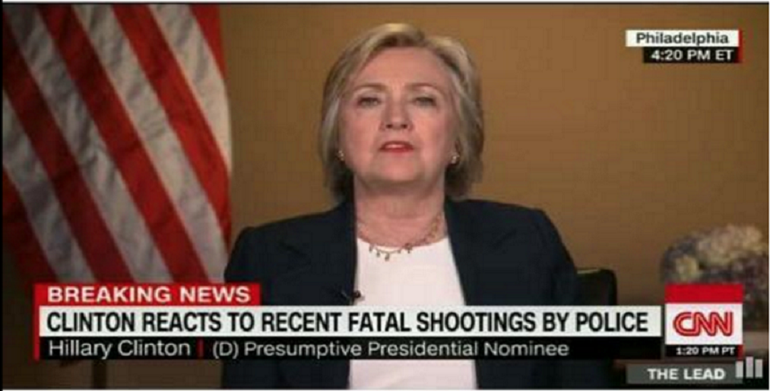 Clinton shootings by police