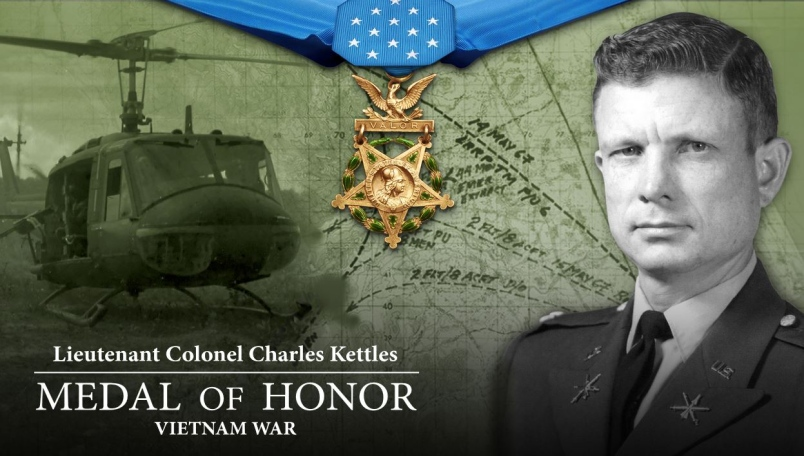 Lt. Colonel Charles Kettles