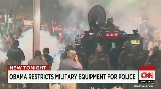 Obama Restricts-Military-Equipment-For-Police-Now-That-Many-Have-Been-Militarized