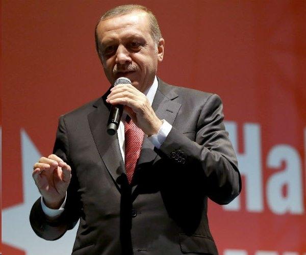 Turkey's President Erdogan.