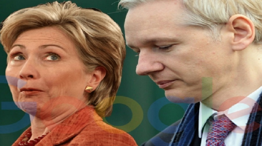 wikileaks-julian-assange-google-is-hillary-clinton_s-e28098secret-weapon_-pic