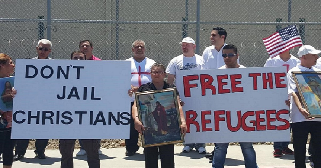 Christians jailed