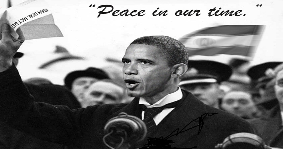 Obama and Peace-in-our-Time