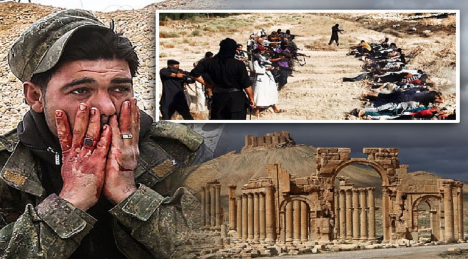 The Syrian Army has found a mass grave with at least 40 corpses, many of them women and children. They were butchered by Islamic State in the city of Palmyra a city that was liberated. ISIS kills 400, mostly women & children, in Palmyra – Examination of the bodies showed that some were beheaded while others were tortured before their deaths. Russian combat engineers arrived in Palmyra on Thursday with special robotic units to offer their expertise in detecting and dismantling mines in an area comprising over 180 hectares (445 acres).