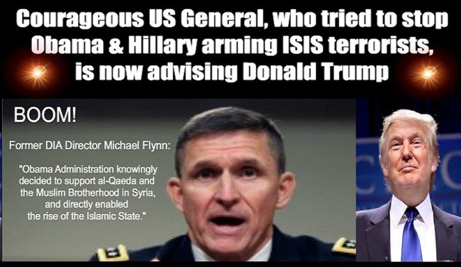 Trump and Flynn