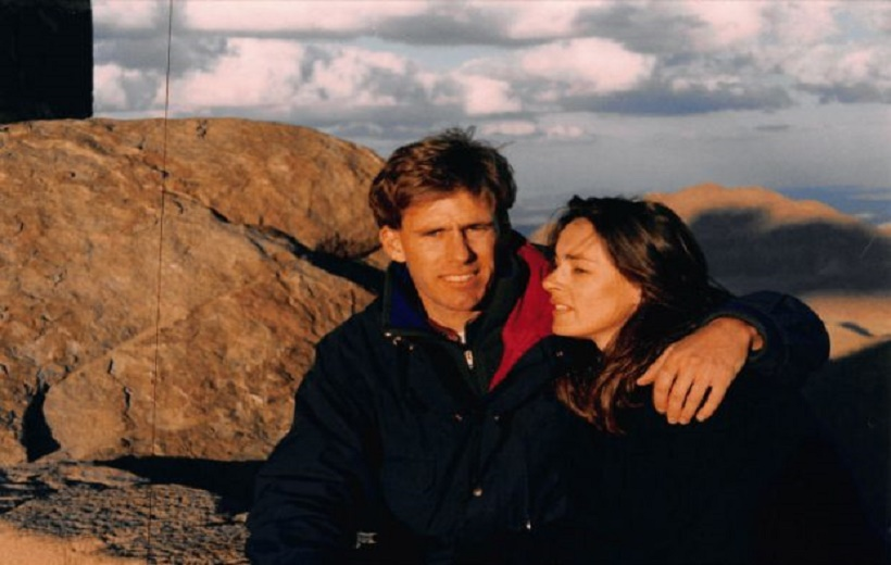 U.S. Ambassador to Libya Chris Stevens and French actress/model Lydie Denier in 1994.