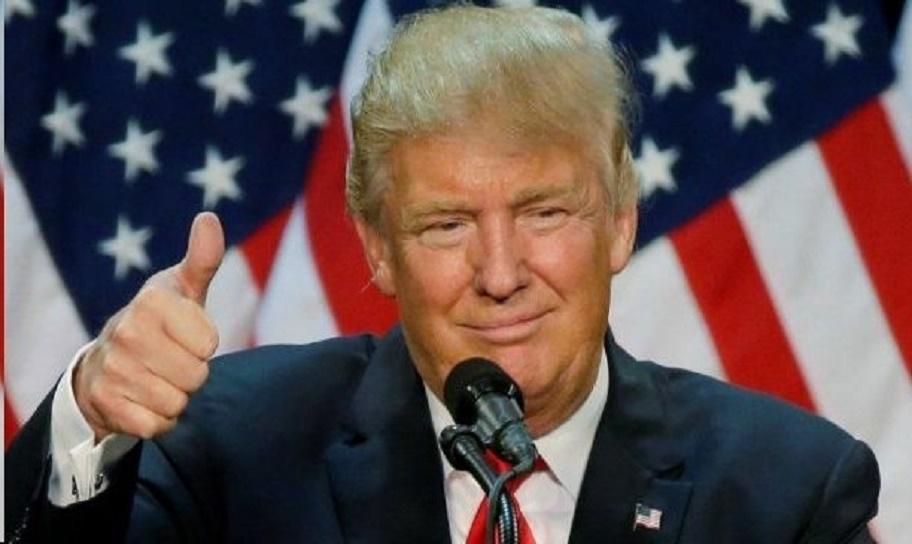 Donald Trump Van Hipp