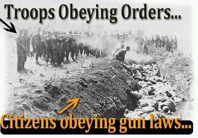 Gun grabbers ulterior motive